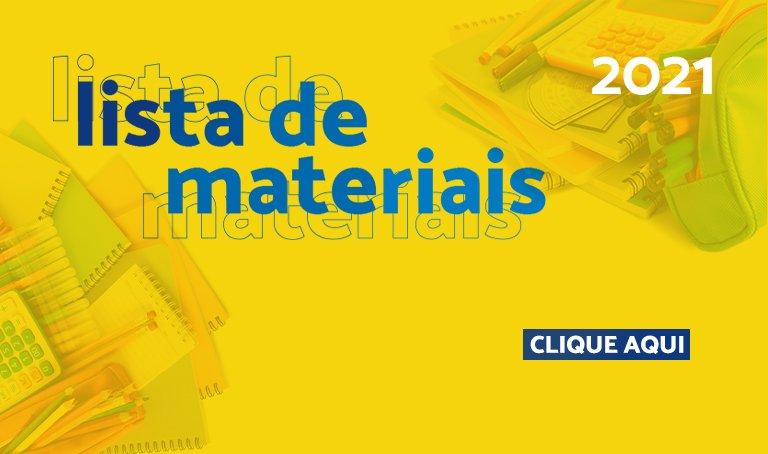 Banner - Lista de Materiais.